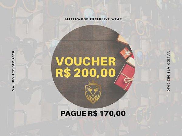 VOUCHER R$ 200,00