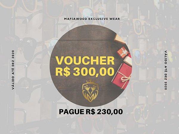 VOUCHER R$ 300,00