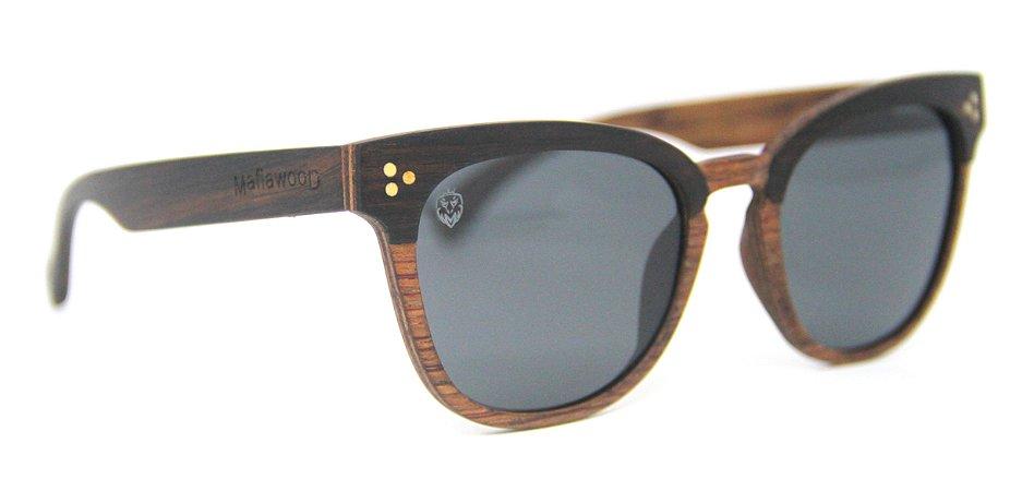 Óculos de Sol de Madeira Virgínia