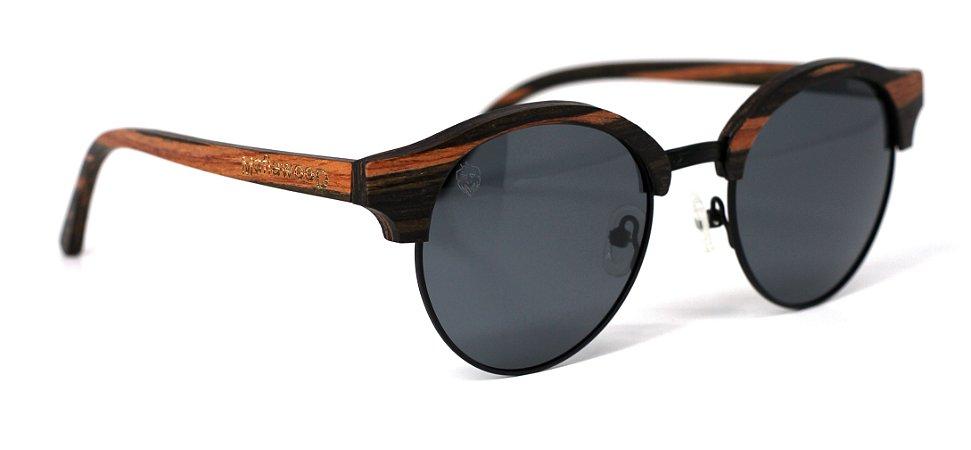 Óculos de Sol de Madeira e Metal Parker II
