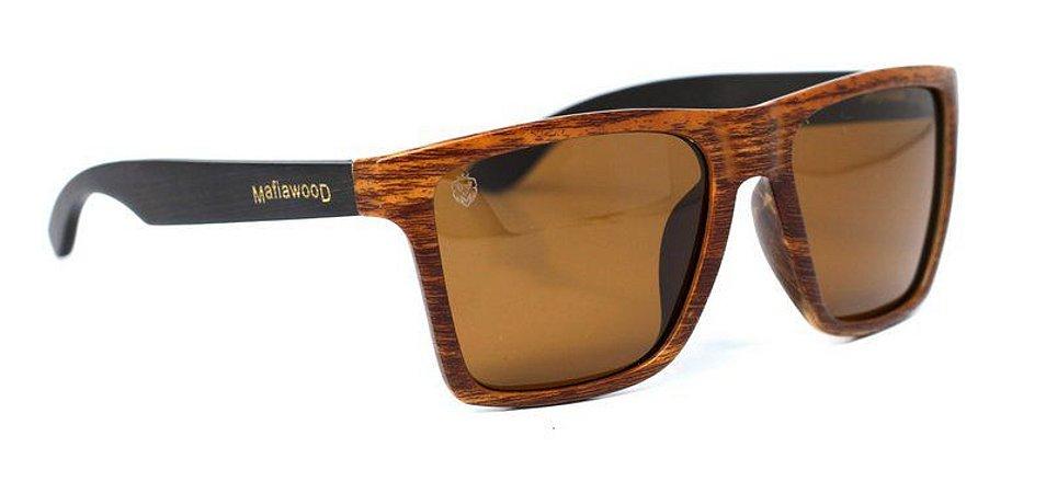 Óculos de Sol de Acetato com Bambu Giuseppe
