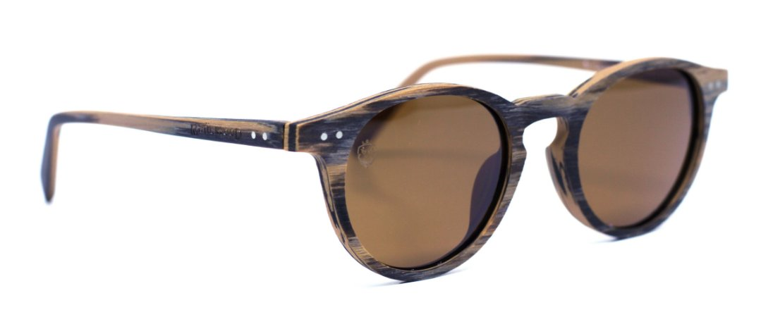 Óculos de Sol de Madeira Matteo