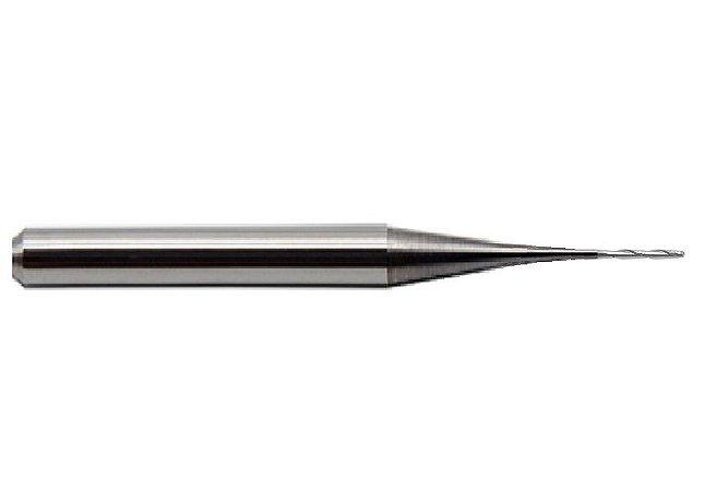 Fresa CADCAM ZZ 0,5S Ø0,5mm- 2 Cortes (Haste Ø6mm)