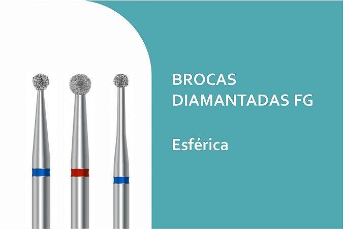 Brocas Diamantadas Esféricas FG