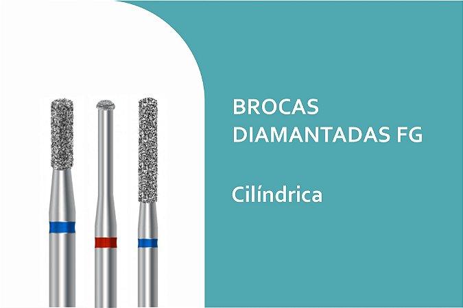 Brocas Diamantadas Cilíndrica  FG