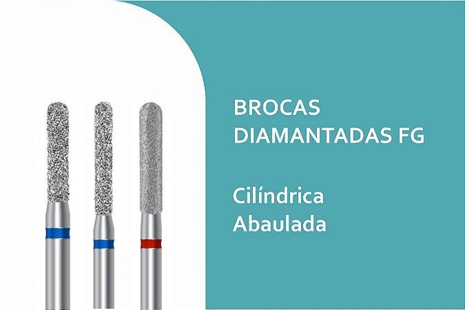 Brocas Diamantadas Cilíndrica Abaulada FG