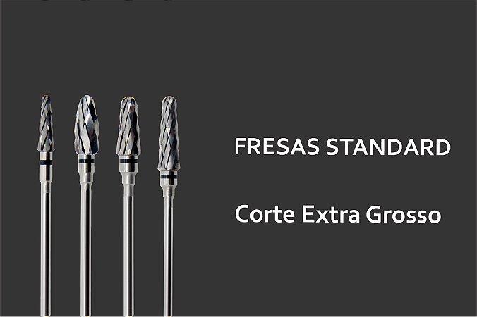 Fresas Standards - Acabamento Extra Grosso