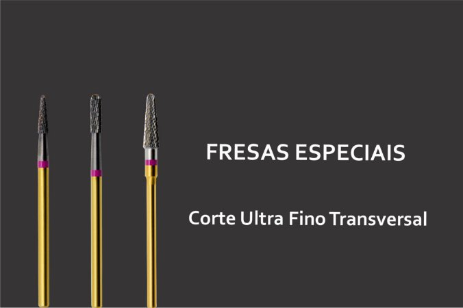 Fresas Especiais - Acabamento Ultra Fino Transversal