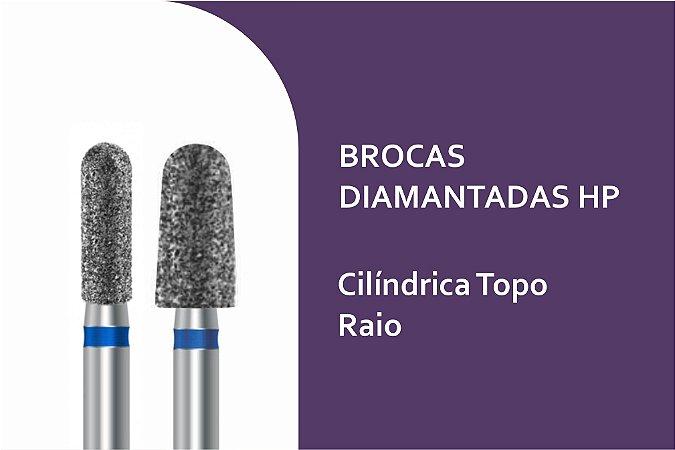 Brocas Diamantadas Cilíndrica Topo Raio HP