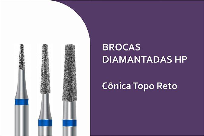 Broca Diamantada Cônica Topo Reto HP