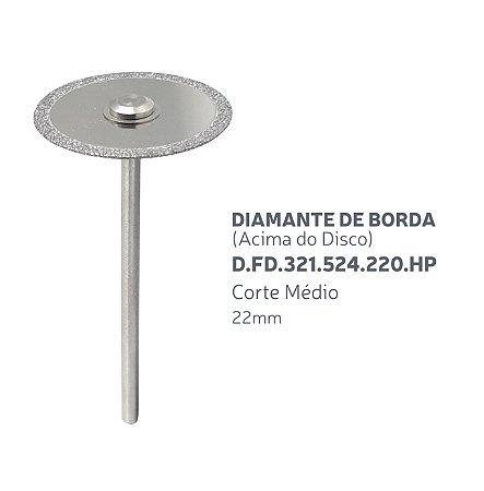 Disco Diamantado - Diamante de Borda (Acima do Disco) D.FD.321.524.220.HP