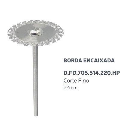Disco Diamantado - Borda Encaixada - D.FD.705.514.220.HP