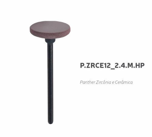 Polidor Panther - P.ZRCE12_2.4.M.HP - Zircônia e Cerâmica