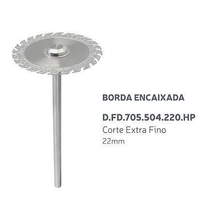 Disco Diamantado - Borda Encaixada - D.FD.705.504.220.HP