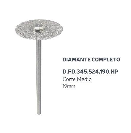 Disco Diamantado - Diamante Completo - D.FD.345.524.190.HP