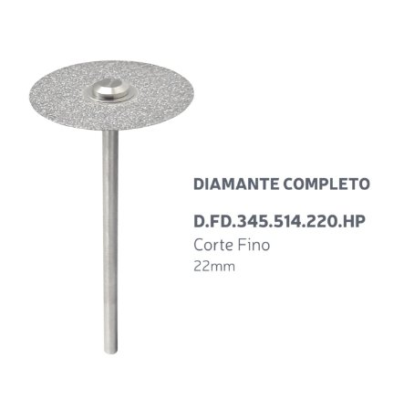Disco Diamantado - Diamante Completo - D.FD.345.514.220.HP