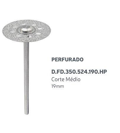 Disco Diamantado - Perfurado - D.FD.350.524.190.HP