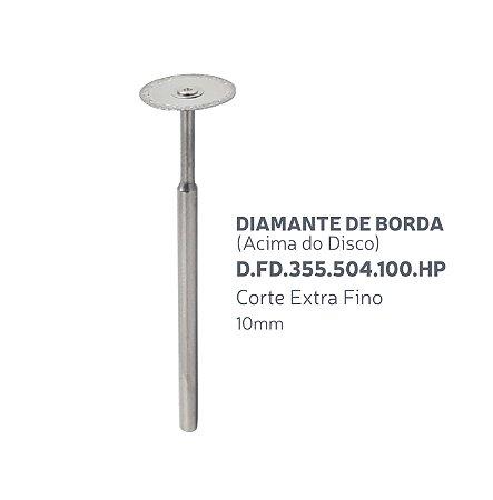 Disco Diamantado - Diamante de Borda (Acima do Disco) - D.FD.355.504.100.HP