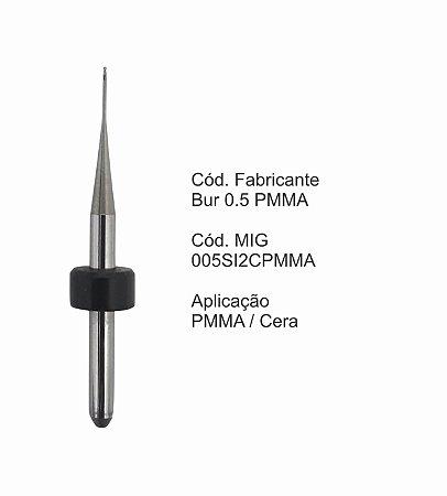 Fresa CAD CAM para Sistemas Sirona - 005SI2CPMMA - Aplicação: PMMA/Cera