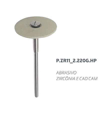 Polidor Abrasivo - P.ZR.11_2.220.G.HP - Zircônia e CAD CAM
