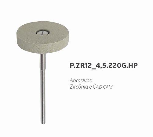 Polidor Abrasivos - P.ZR12_4,5.220.G.HP - Zircônia e CAD CAM