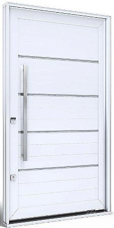 Porta Pivotante Branca c/ Friso - Eccellente