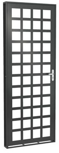 Porta Quadriculada p/ Vidro - Fortsol