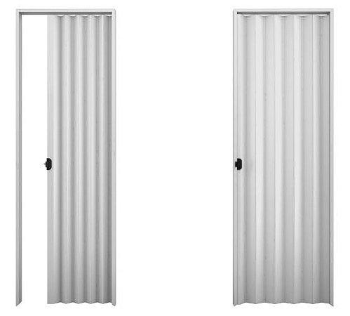 Porta Sanfonada PVC Branca - Plasbil