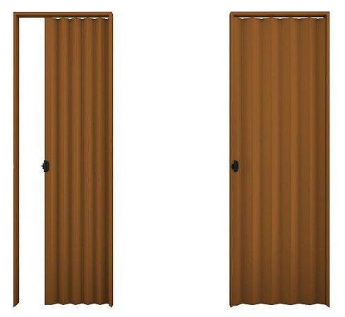 Porta Sanfonada PVC Mogno - Plasbil