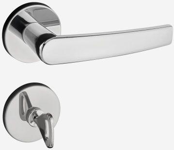 Fechadura 401 Cromada Banheiro - Pado
