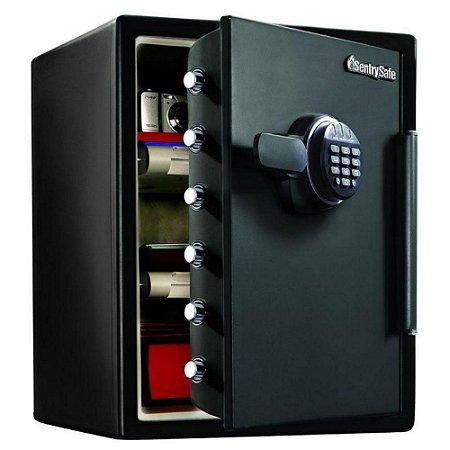 Cofre Eletrônico Anti Chamas Proteção contra Fogo, Agua e Quedas SFW205