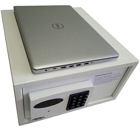 Cofre Eletrônico com senha e abertura automática Mod. Slim Para NOTEBOOK