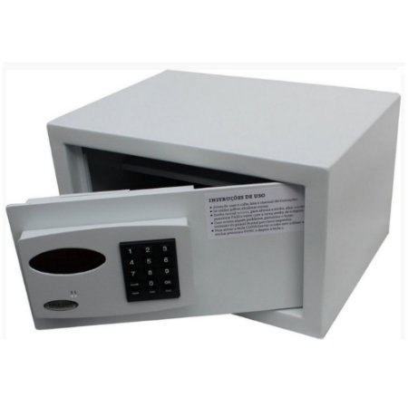 Cofre Digital Eletrônico Sistema Auditoria Seguro Proteção Total Cadastra 7 Usuários - Office Top