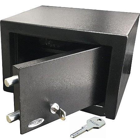 Cofre com Chave Multi-Ponto Personal Black