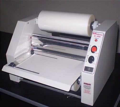 Maquina de Plastificação Rotativa Tamanho Oficio e RG