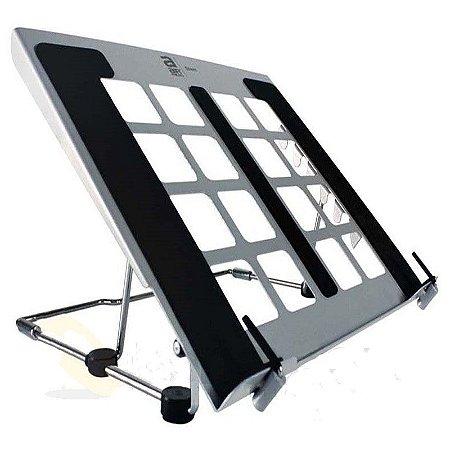 Suporte para Notebook com Ajuste de Inclinação Orus Steel