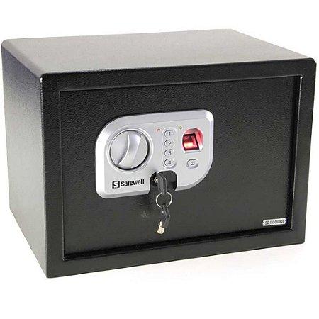 Cofre Eletrônico Biométrico Impressão Digital FPN 25 - Black