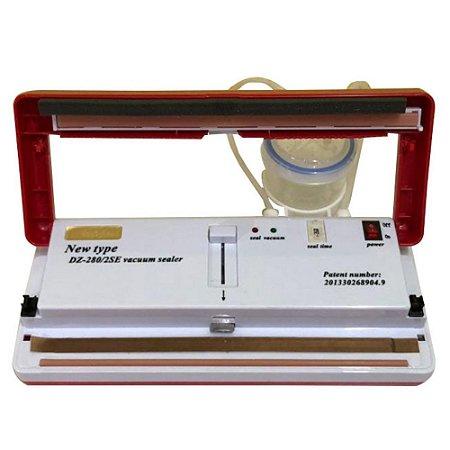 Seladora A Vácuo Portátil – DZ280 Com Filtro p/ Alimentos