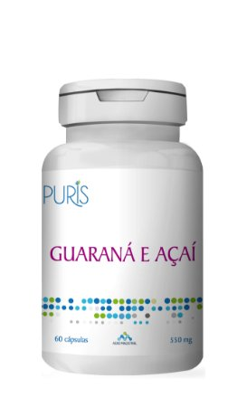 Guaraná com Açaí 550mg - 60 Cáps.