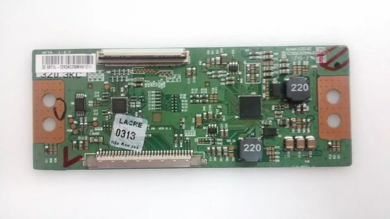 Placa T-con Tv Lg 32lb550b
