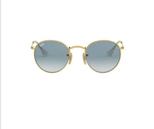 Óculos de Sol Ray-ban Rb3447n Round Metal 001/3f