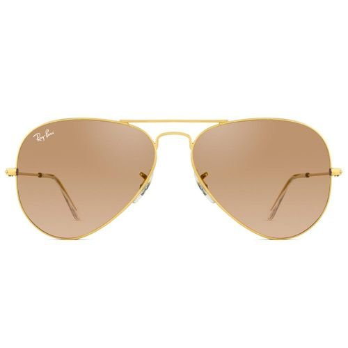 Óculos de Sol Ray-Ban RB3025L Aviator Arge Metal 0001 3F 58 14 2N