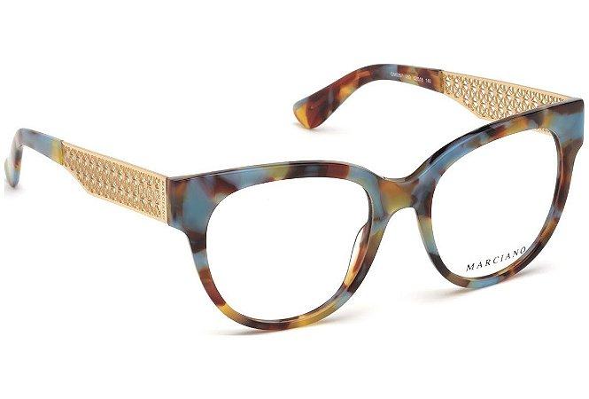 Óculos de Grau Guess By Marciano GM0357 C52 52 18 140