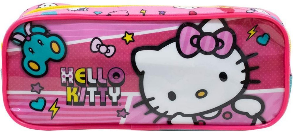 Estojo Simples Hello Kitty X1 Xeryus - 9556
