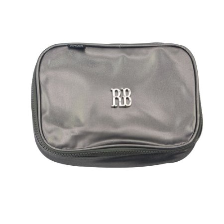 Estojo Metalizado Rebecca Bonbon Prata - RB2076