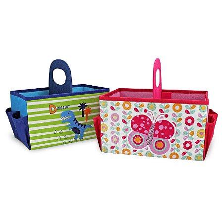 Caixa Organizadora Infantil com Alça (Pequeninos) Jacki Design - ADH18616
