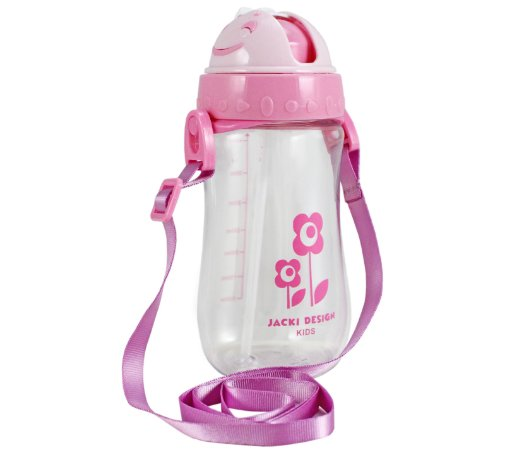 Garrafa Squeeze Infantil Menina 460ml Sapeka Jacki Design - ATB17529