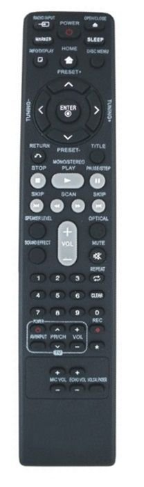 CONTROLE REMOTO HOME THEATER LG - AKB37026852 / HT805ST / HT805THW