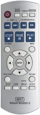 CONTROLE REMOTO DVD PANASONIC K32