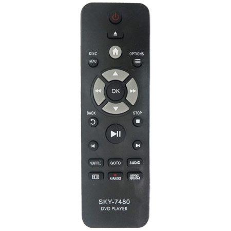 CONTROLE REMOTO DVD PHILIPS CR-2888